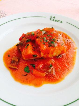 Restaurante La Tasca: Merluza con Tomate