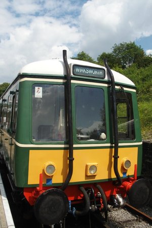 Ecclesbourne Valley Railway: one of the trains.