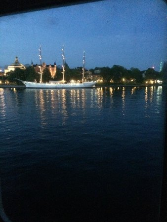 M/S Birger Jarl Hostel & Hotel: View from the cabin