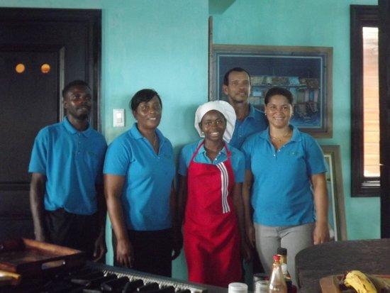 Jakes Hotel, Villas & Spa: Villa Staff