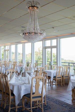 Hotel Gyllene Uttern: Restauranten