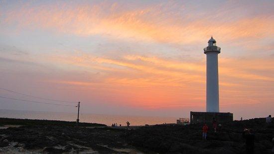 Cape Zanpa: 灯台