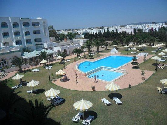 Hotel Green Golf: vue de la chambre