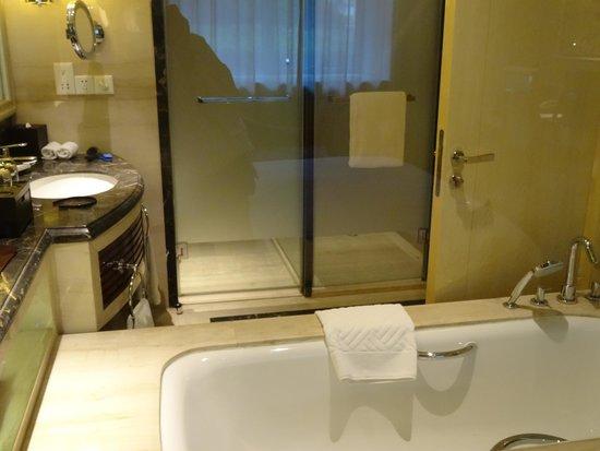 Hilton Xi'an: bathroom shower area