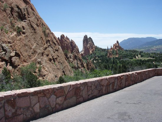 Garden of the Gods: Interesting formations