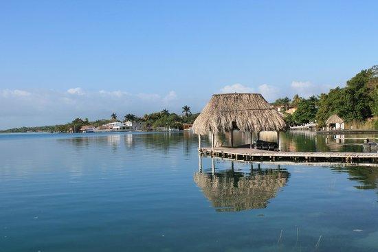 Hotel Laguna Bacalar: hotel port