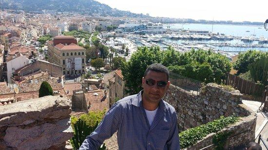 Le Suquet : A view to Cannes