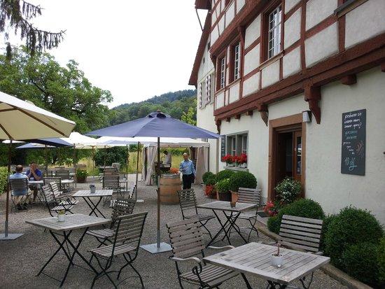 Gasthof Schupfen: The Patio