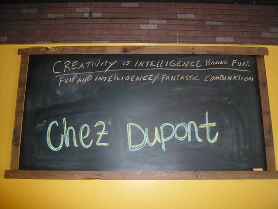 Chez Dupont and The Stone Soup Cafe : Chef