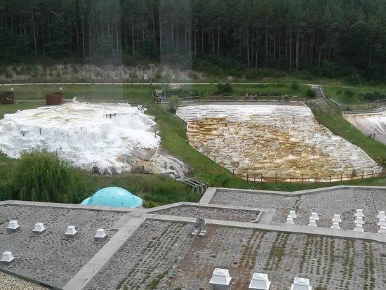 Saliris Resort: Salt hill at the source