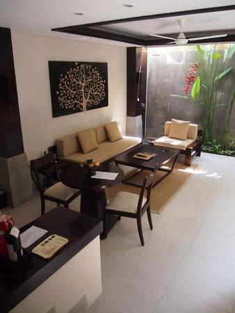 Tanadewa Luxury Villas & Spa: Living Area