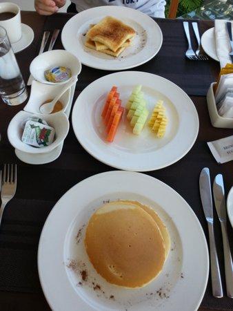 Tanadewa Luxury Villas & Spa: Breakfast