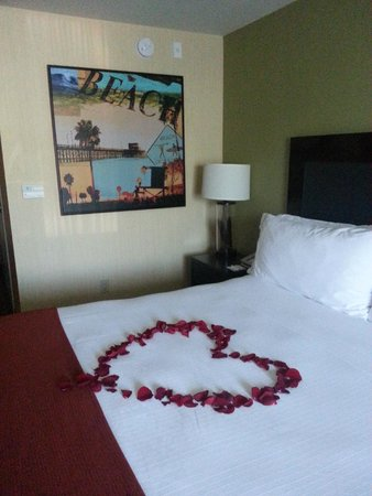 Holiday Inn Express Newport Beach: Beautiful Rooms
