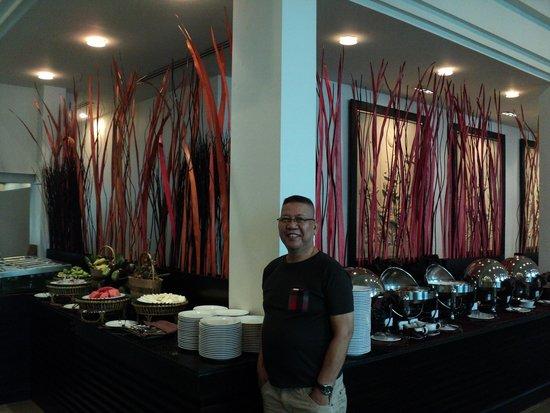 Tara Angkor Hotel : buffet breakfast