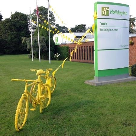 Holiday Inn York: on the 2014 Tour de France Route.