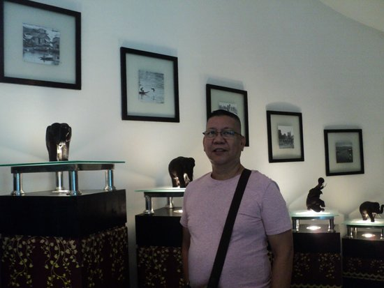 Tara Angkor Hotel : part of lobby area