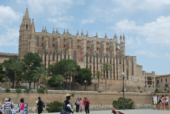 Palma Cathedral Le Seu : The cathedral