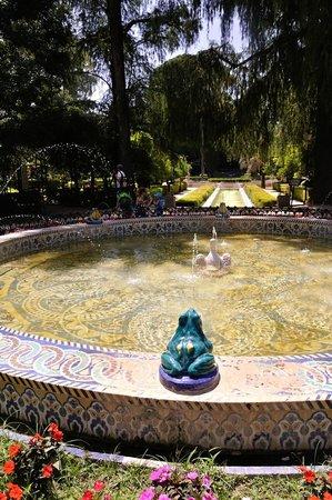 Parc de María Luisa : le bassin des grenouilles