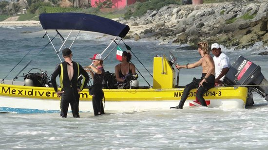 Mexidivers Tulum : Heading out