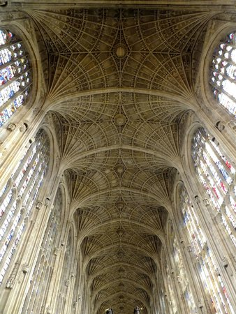 King's College Chapel : la voûte