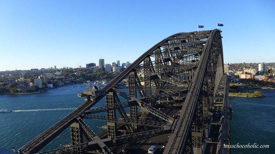 Pylon Lookout at Sydney Harbour Bridge: harbour bridge