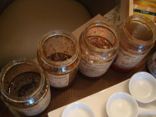 Pappige Marmeladenglaser Zum Fruhstuck Picture Of Hotel U Castellu