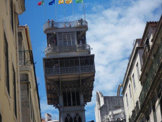 Santa Justa Lift : Elevador!