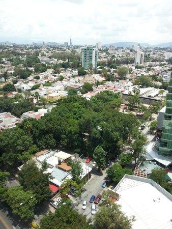 Aloft Guadalajara: View from Room