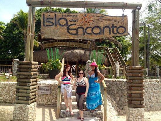 Hotel Isla del Encanto: En la entrada