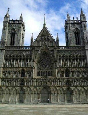 Cathédrale de Nidaros : Aussenbild