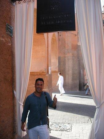 Entrada Les Bains de Marrakech