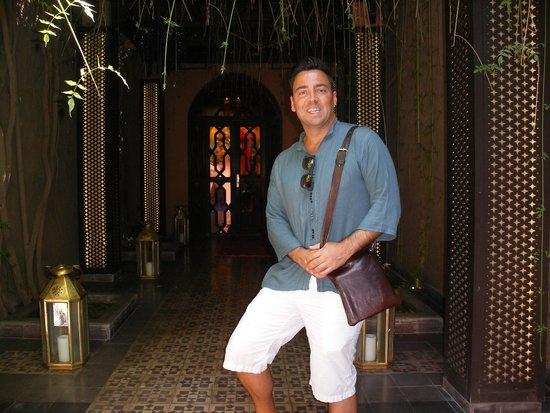 Pasillo de Entrada Les Bains de Marrakech