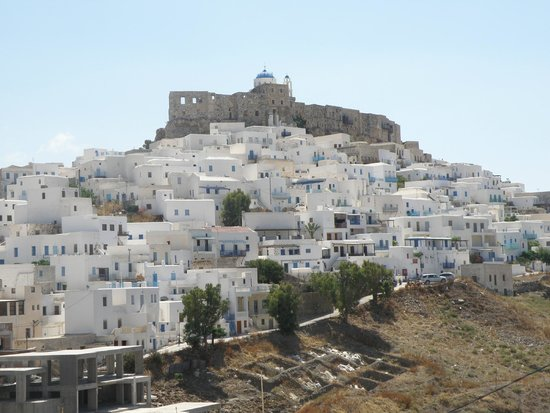Tholaria Boutique Hotel Astypalaia: view from balcony