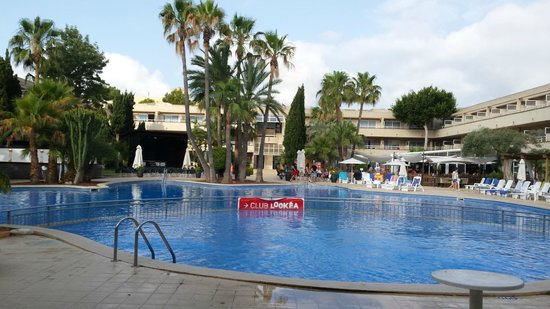 Hotel Ibersol Son Caliu Mar : piscine la grande