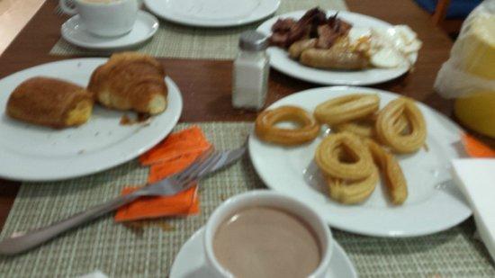 Hotel Ibersol Son Caliu Mar : petit déjeuner