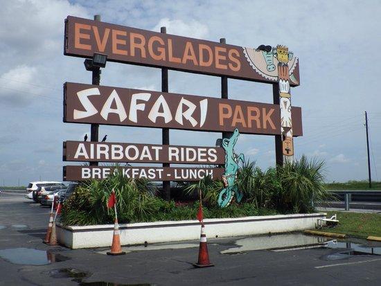Everglades Safari Park: Nice place