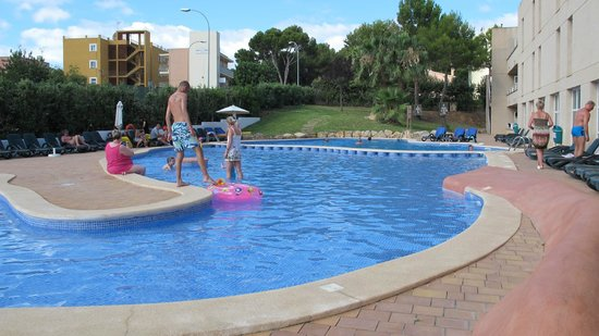 Hotel Ibersol Son Caliu Mar : piscine tête d'éléphant