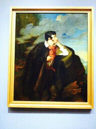 National Museum in Warsaw: Portait of Adam Mickiewicz by Walenty Wankowicz