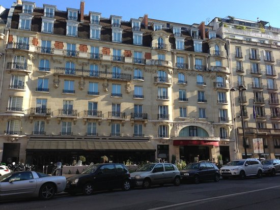 Hotel Pont Royal : Front of Pont Royal