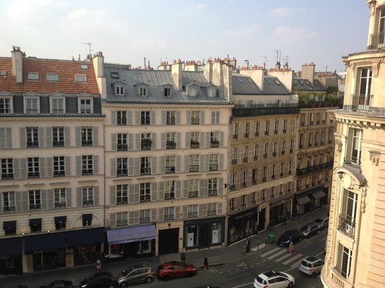 Hotel Pont Royal: View from 507