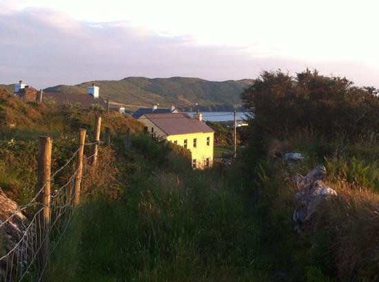 Allihies Seaview: The path to the copper mines