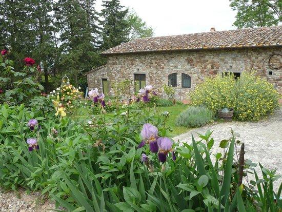 Ancora del Chianti Eco BB & Art Retreat in Tuscany : le jardin