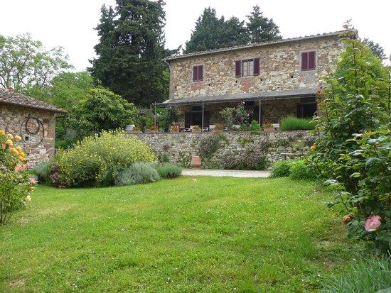 Ancora del Chianti Eco BB & Art Retreat in Tuscany : la terrasse
