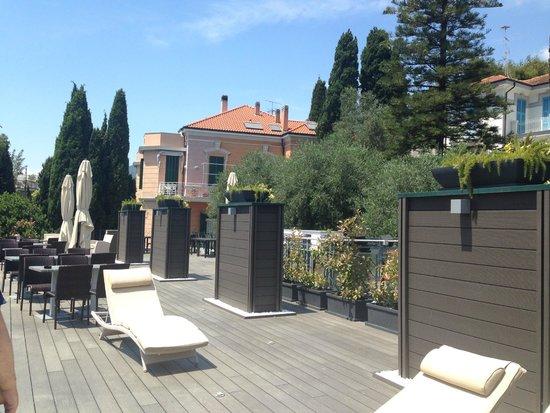 Hotel Villa Sylva: Roof terrace