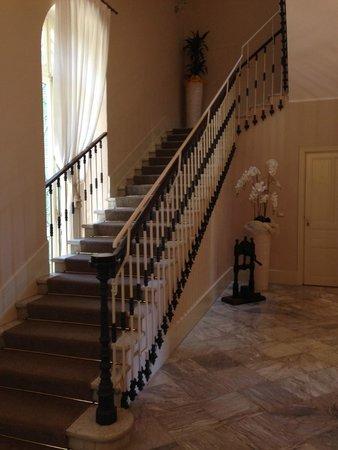 Stairs in Hotel Villa Sylva