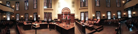 Ellis County Courthouse: Waxahachie Courtroom