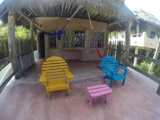Zamas: Cabana Terrace