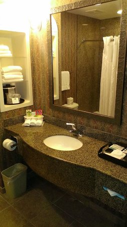 Holiday Inn Express Hotel & Suites Manteca: Bathroom