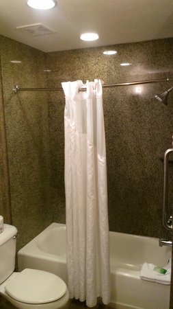 Holiday Inn Express Hotel & Suites Manteca: Shower/tub