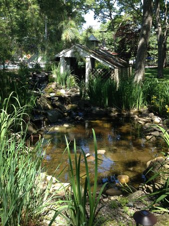 Bowen's by the Bays: The beautiful pond!
